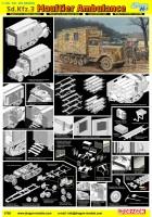 Sd.Kfz.3 Maultier Ambulance - DML 6766