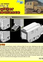 De Sd.De auto.3 maultier Ambulance - DML 6766