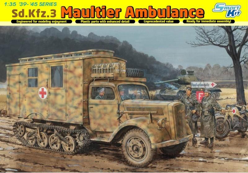Sd。汽车。3maultier救护车-仔6766
