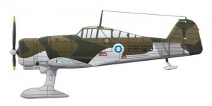 Fokker D.XXI 4. Sarja Post War Service - CMK SH72189