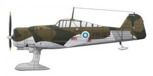 Fokker D. XXI 4. Sarja Post de Service de Guerre - CMK SH72189
