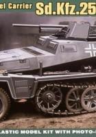 Sd.Kfz.250/10 Leichter Schutzenpanzerwagen - Ace Models 72253
