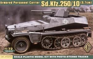 Ace Modelli 72253 - Sd.Kfz.250/10 Leichter Schutzenpanzerwagen