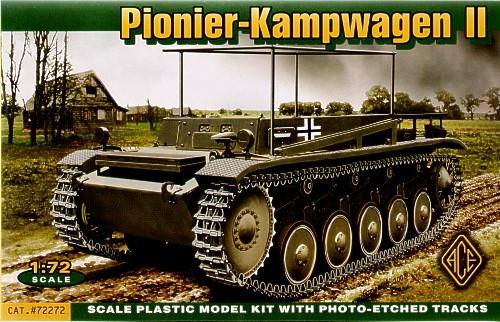 Ace Modellek 72272 - Pionier Kampfwagen II.