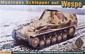 Ace-Modelle 72502 - Munitions Schlepper auf Wespe