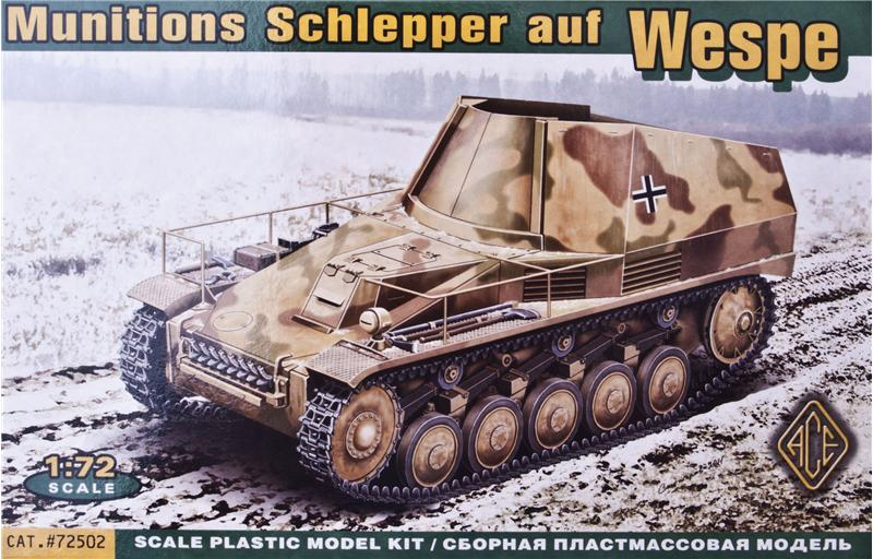 Ace Models 72502 - Munitions Schlepper auf Wespe