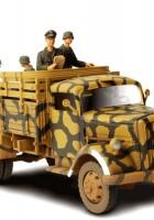 Německá 3 tuny Nákladní Vůz - Síly Valor 80020