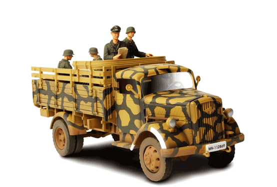 German 3 ton Cargo Truck - Forces of Valor 80020