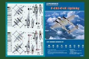 P-38L-5-L0 Lightning - HOBBY BOSS 80284