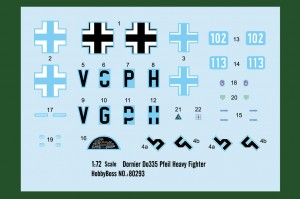 Dornier Do335 Pfeil Sunkusis Naikintuvas - HOBBY BOSS 80293