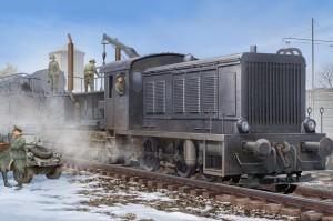 German WR360 C12 Locomotive - HOBBY BOSS 82913