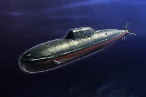 Rusijos karinio jūrų Laivyno Alfa Klasės SSN - HOBBY BOSS 83528