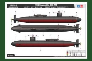 USS Greeneville SSN-772 - HOBBY BOSS 83531