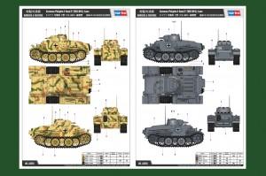 Německý Pzkpfw.I Ausf.F (VK18.01)- Pozdní - HOBBY BOSS 83805