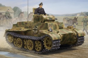 German Pzkpfw.I Ausf.F (VK18.01)- Late - HOBBY BOSS 83805