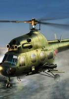 Mi-2URP Hoplite antitank varianta - HOBI ŠEF 87244