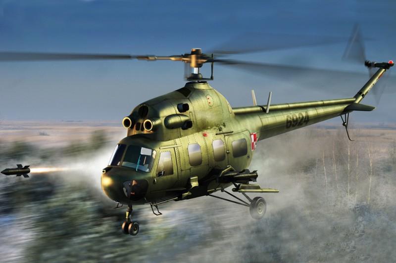 Mi-2URP Hoplite antitank variant - HOBBY BOSS 87244