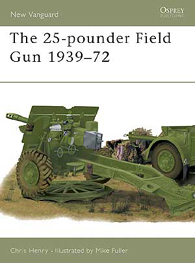 25-pounder Oblasti Zbraň 1939-72 - NEW VANGUARD 48