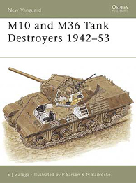 M10 a M36 Nádrž Torpédoborce 1942-53 - NEW VANGUARD 57