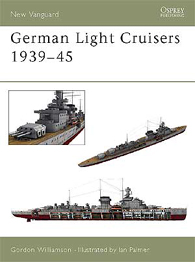 German Light Cruisers 1939–45 - NUOVO VANGUARD 84