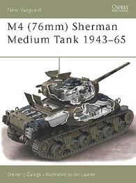 M4 (76mm) Sherman Medium Tank 1943–65 - NEW VANGUARD 73