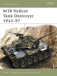 M18 Hellcat Tank Destroyer 1943-97 - ÚJ VANGUARD 97