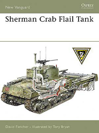 Sherman Crab Flail Tank - UUSI VANGUARD 139
