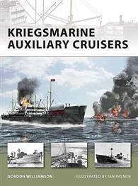 Kriegsmarine hjælpekrydsere - NYE VANGUARD 156