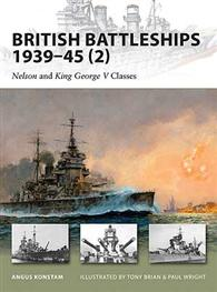 British Battleships 1939–45 (2) - NEW VANGUARD 160