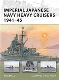 Imperial Japanese Navy Heavy Cruisers 1941-45 - NEW VANGUARD 176