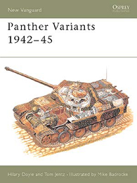 Panther Varianty 1942-45 - NEW VANGUARD 22