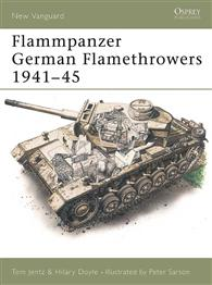 Flammpanzer 독일 Flamethrowers1941-45-NEW VANGUARD15