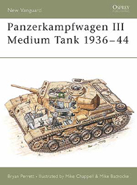 Panzerkampfwagen III-Medium Tank 1936-44 - NEW VANGUARD 27
