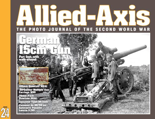 Фото журнал Второй Мировой Войны выпуск № 24 - союзников оси 24