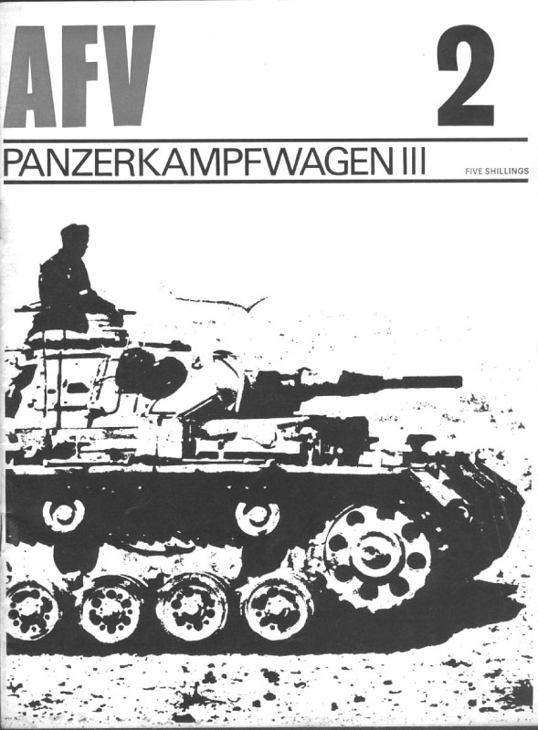 AFV Orožja Profil 02 Tankovsko Kampfwagen III-1