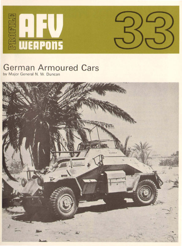 AFV-Armes-Profil-33-German-Armoured-Cars