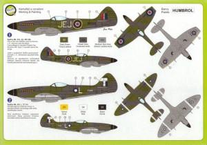Supermarine Spitfire MK.XIVE - AZ-Mudel Legato 7217
