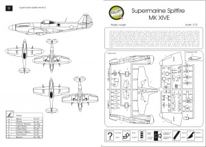 Supermarine Spitfire MK.XIVE - AZ-Modèle Legato 7217