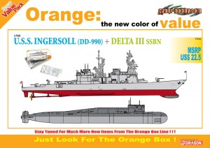 U. S. S. Ingersoll DELTAET III SSBN - Cyber-Hobby 7114