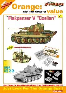 Flakpanzer V Coelian - Cyber Hobby 9121