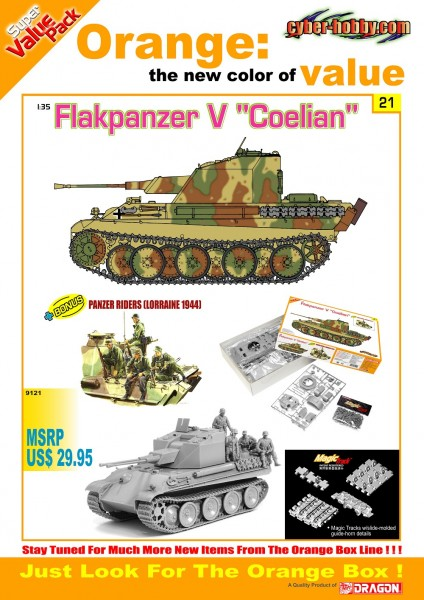 Flakpanzer V Coelian - Cyber Hobbi 9121