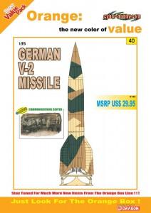 Alemão Míssil V-2 - Cyber-Hobby-9140