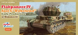 "Flakpanzer IV Ausf.G ""Wirbelwind"" Early Production w/Zimmerit - DML 6565"