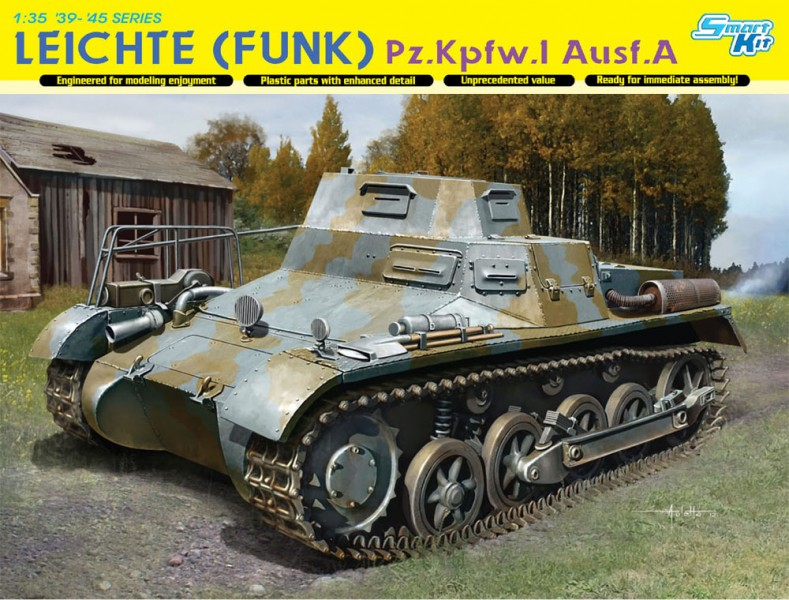 Light (raadio) Pz.Kpfw.I Ausf.A - DML 6591