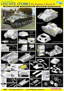 Légère (Sans Fil) Pz.Kpfw.I Ausf.A - DML 6591