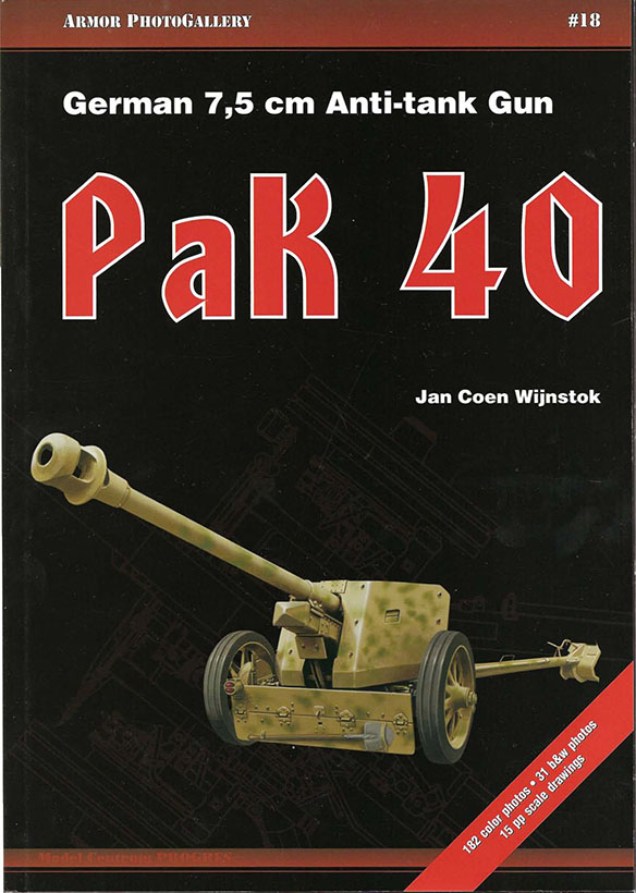 Rustning Fotogalleri 18 - Tyske 7,5 Cm Panserværnskanon Pak 40