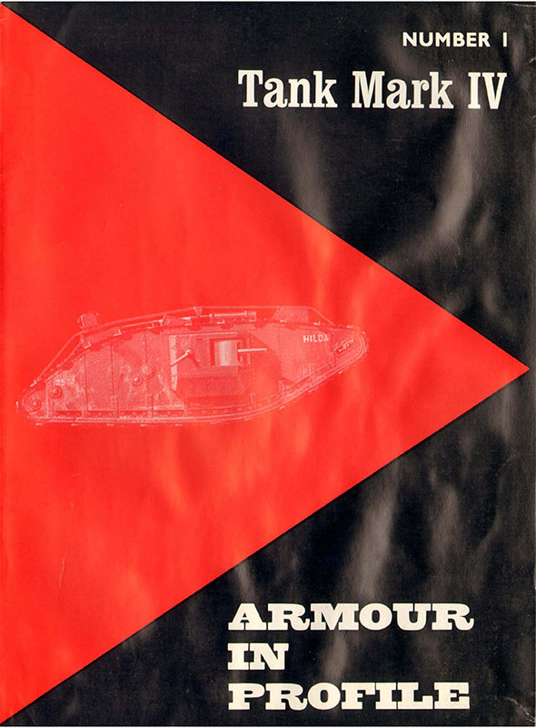 Armour-in-Profiel-01-Tank-Mark-IV-