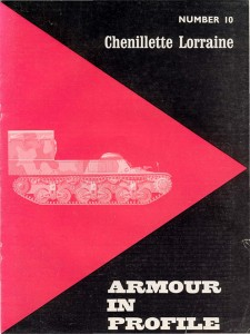 Armour in Profile 10 - Chenillette Lorraine