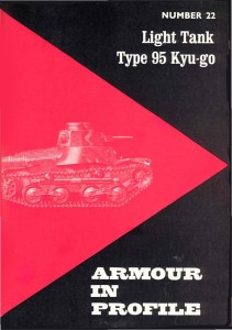 Armour in Profile 22 - Light Tank Type 95
