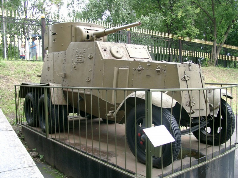 BA-6 Armored Car Walk Around